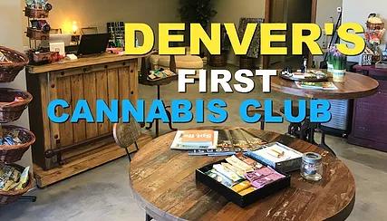 Denver first cannabis club